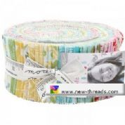 "Bungalow - Jelly Roll by Kate Spain for Moda Fabrics - 40 x 2.5"" Fabric Strips"